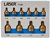 Laser Tools-Low Profile - Punta Torx (10 unidades)