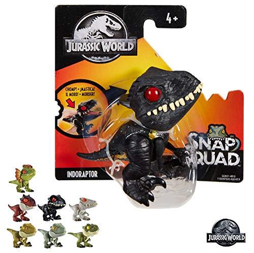 Mattel-GKX72 Jurassic world Dino bocazas 11x5cm, Multicolor (GKX72) , color/modelo surtido