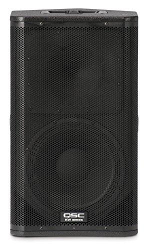QSC KW122 - Lautsprecher (Deckenmontage möglich, Flur, Wandmontierbar, Universal, Eingebaut, 2-Wege, 50-20000 Hz, Schwarz)