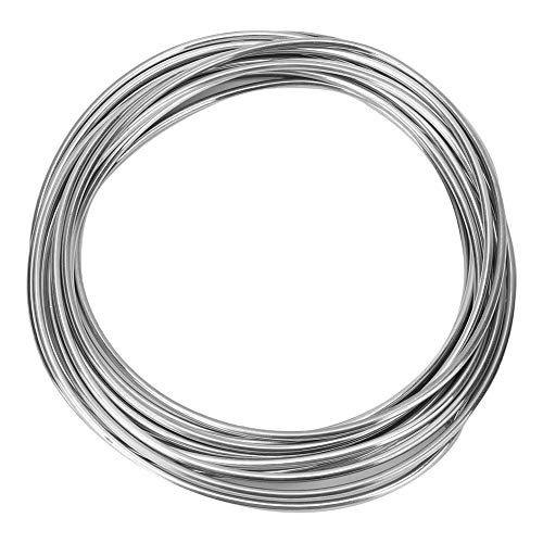 Filo di saldatura in rame-alluminio, filo di saldatura a flusso di rame e alluminio per saldatura a filo di rame e alluminio (4m)