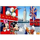 YeeATZ Puzzles para adultos 500 piezas Donald Duck Animation 500 piezas rompecabezas póster de diversión familiar, juegos de relajación y meditación (52 x 38 cm)