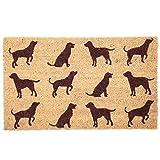 Puckator I Love My Dog - Felpudo (Fibra de Coco, 75 x 2 x 45 cm), diseño de Perro, Color marrón