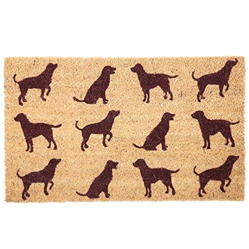 """Puckator Fußmatte """"Hunde"""" aus Kokos"""