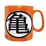 Dragonball Z - Taza de cerámica gigante de 460 ml – Kame Haus – Logo – Caja de...