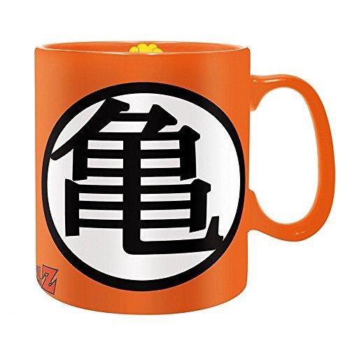 Dragonball Z - Taza de cerámica gigante de 460 ml – Kame Haus – Logo – Caja de regalo