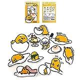 Sanrio Gudetama Lazy Egg Big Jumbo Deco Stickers (12pcs 1 Pack) (VER.3) by Gudetama