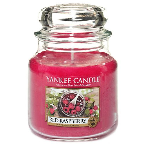 Yankee Candle 1323187 Red Raspberry Middelgrote pot