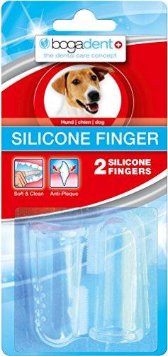 Bogadent UBO0713 Silicone Finger Hund, 2 Stück