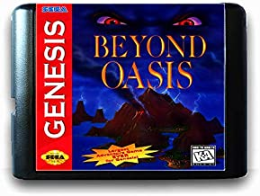 Beyond Oasis 2 For 16 Bit Sega Md Game Card For Mega Drive For Genesis Us Pal Version Video Game Console US PAL SHELL