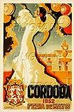 PostersAndCo Cordoba Feria 1952 Rixf-Poster/Kunstdruck, 40