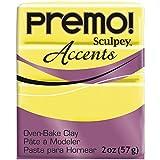 Polyform Premo Sculpey - Arcilla de polímero, 2 onzas, amarillo...