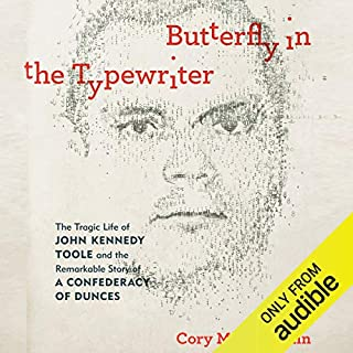 Butterfly in the Typewriter audiobook cover art