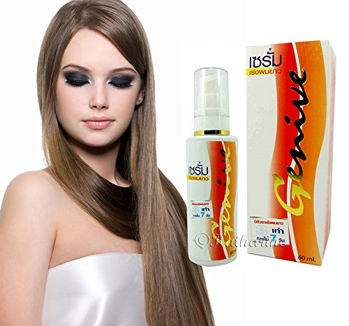 Genive Long Grow Hair Wild Growth Fast Longer Faster Regrowth Serum for Women Natural Spray 60ml