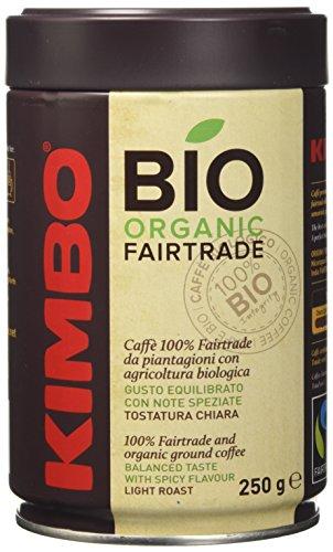 Kimbo Lattina Bio Organic Fairtrade Caffe - 250 gr