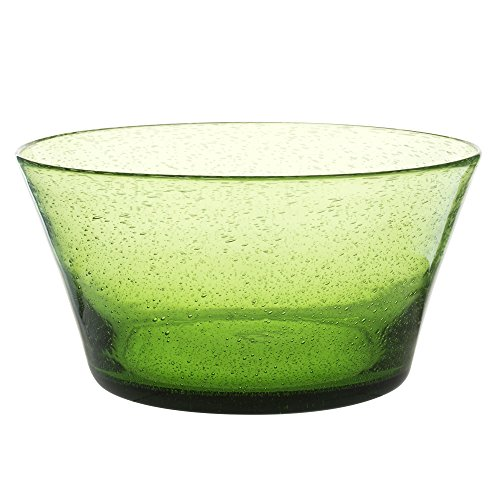 Table Passion - Saladier artisan bullé vert