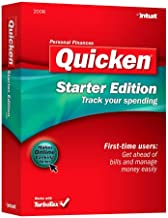 Quicken 2008 Starter Edition [OLD VERSION]