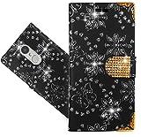 FoneExpert® Lenovo K6 Handy Tasche, Bling Diamant Wallet Hülle Flip Cover Hüllen Etui Hülle Ledertasche Lederhülle Schutzhülle Für Lenovo K6