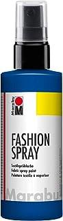 Marabu - Pintura Textil con pulverizador (100 ml), Color Azul Marino