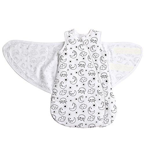 MKW Babies 100% Baumwolle Swaddle Baby Schlafsack - Herbst / Winter Schlafsack (3-6 monate, 2.5 Tog)