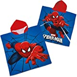 Puttkammer Home Badeponcho/Badetuch Kids Deluxe - Spiderman