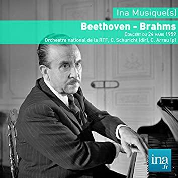Beethoven: Piano Concerto No. 3 in C Minor, Op. 37 - Brahms: Symphony No. 4 in E Minor, Op. 98