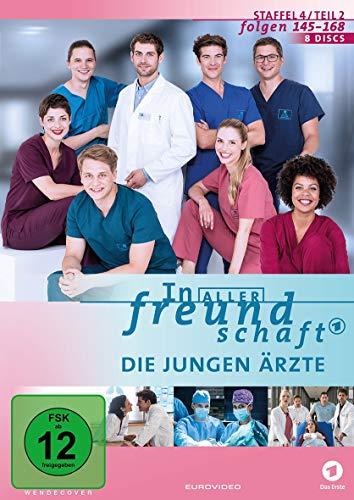 In aller Freundschaft - Die jungen Ärzte, Staffel 4, Folgen 145-168 [8 DVDs]