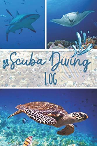 Scuba Diving Log: Taucherlogbuch zur...