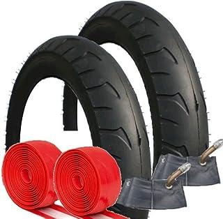 Quinny Buzz–Juego de neumáticos y tubos con añadido protección antipinchazos tamaño 121/2x 21/4