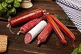 Feinschmecker Salami Paket - 4 Stangen Salami und 2 Landjäger - 750 g
