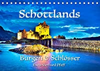 Schottlands Burgen und Schloesser (Tischkalender 2022 DIN A5 quer): Eindrucksvolle Burgen, majestaetische Schloesser und eine atemberaubende Landschaft, die ihresgleichen sucht. (Monatskalender, 14 Seiten )