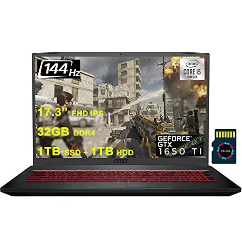 Compare MSI GF75 Raider vs other laptops