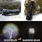 Gearlight high-powered led flashlight s1200 - mid size, zoomable, water resistant, handheld light - high lumen camping… 14 bigger, brighter, better - hold the gearlight in your hand and know you're holding something substantial. With a solid build and blinding brightness, the s1200 outshines the competitions. This mid-size flashlight is big on power but compact enough to fit in your backpack, survival bag, or car glove compartment. Super bright wide beam & long battery life - ultra wide beam effortlessly illuminates a whole room or backyard. It is 12 times brighter than old incandescent lights. Easily lasts for an entire camping trip using 3 standard aa's. Compatible with 18650 or 26650 rechargeable batteries. (batteries are not included) zoomable & multiple lighting modes - adjustable zoom feature allows you to focus in on objects hundreds of feet away or zoom out to sweep a large area. Multiple settings replace the need for different flashlights. Makes for a practical addition to any household or emergency kit.