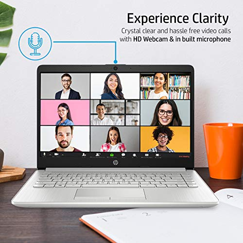 HP 14 10th Gen Intel Core i3 Processor 14-inch FHD Laptop with Built-in 4G LTE (4GB/1TB HDD/Windows 10/MS Office 2019/Natural Silver/1.51kg) 14s-er0002TU