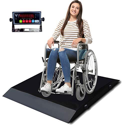 PEC Portable Wheelchair Scale Digital Medical Scales