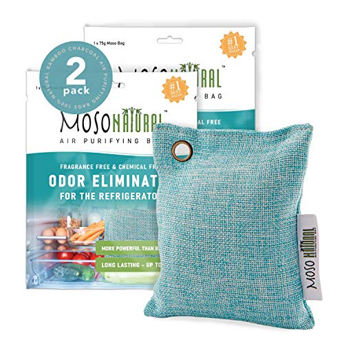 Learn More About MOSO NATURAL: The Original Air Purifying Bag for Fridge and Freezer. an Unscented,...