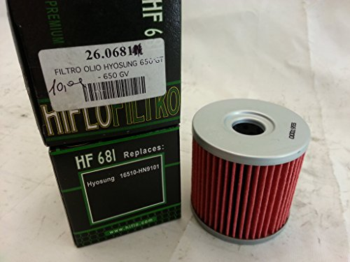 Filtre à huile – Hyosung 650 GT, 650 GV, code : 681