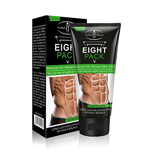 Huster 80g Powerful Abdominal Muscle Cream Stronger Muscle Strong Anti Cellulite Burn Fat Product Weight Loss Cream For Men DROP SHIP