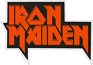 Iron Maiden Sticker for Cars | 5 - Sizes Window Decal Poster Banner | Iron Maiden Patch Velcro