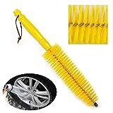 jumpeasy Neue Auto gelb Werkzeug Reifen Rim Auto waschen Auto leichtmetallrad Pinsel Reifen - Reinigung