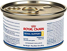 Royal Canin Veterinary Diet Feline Renal Support T Slices In Gravy Canned Cat Food, 3.0 oz