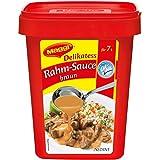 Maggi Rahm-Sauce braun, vegetarisch, 1er Pack (1 x 1kg Profi Box)