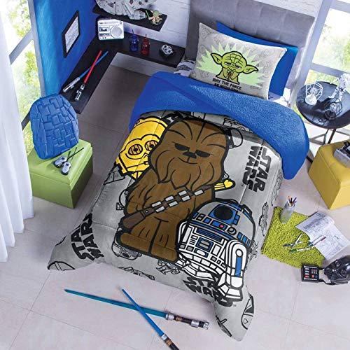 Colchas Concord Star Wars COBERTOR DE BORREGA Star Wars V2 Azul Rey