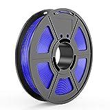TECBEARS TPU 3D Printer Filament 1.75mm Blue, 95A Shore Hardness, Dimensional Accuracy +/- 0.03 mm, 0.5 Kg Spool, Pack of 1