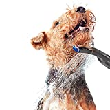 Waterpik PES-142UK Pet Wand Dog Shower Attachment for Indoor-Outdoor Use, Grey