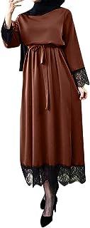 JERFER Vestidos de Mujer 2019 Abaya Dubai Ramadan Caftan MoroccanVestido Musulmán Turco