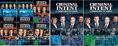 Criminal Intent - Verbrechen im Visier, Staffel 1 - 4 im Set (1.1 - 4.2) - Deutsche Originalware [25 DVDs]