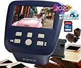 zonoz FS-Five Digital Film & Slide Scanner - Converts 35mm, 126, 110, Super 8 & 8mm Film Negatives & Slides to JPEG - Includes Large Bright 5-Inch LCD, Easy-Load Film Inserts Adapters (16GB SD Card)