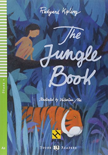 The Jungle Book - Série HUB Young ELI Readers. Stage 4A2 (+ Audio CD)