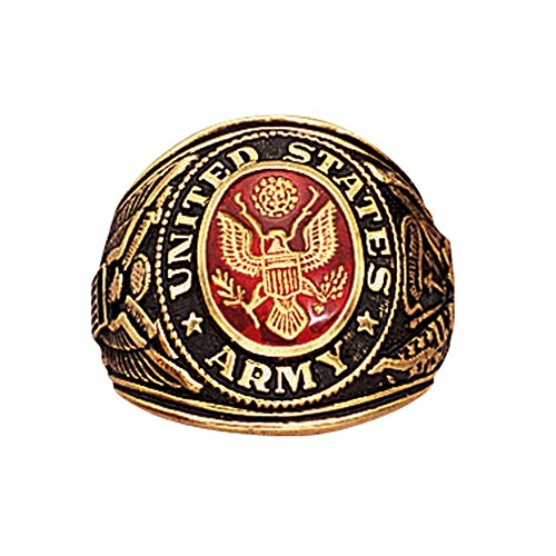 Rothco Deluxe Army Military Ring, 10 Size