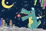 Puzzle 1.500 piezas, Rompecabezas de encastre de Madera, Puzzle Panorama, Obra de Arte de Juego de Rompecabezas para Adultos, cocodrilo